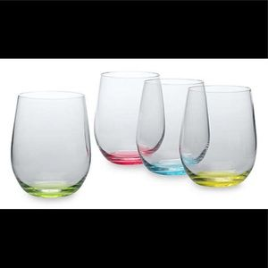 Riedel® NEW Happy O Crystal Wine Tumblers Set of 4